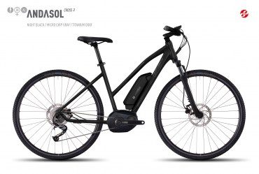 Ebike ANDASOL Cross 2 28″ Lady - M 165-180cm
