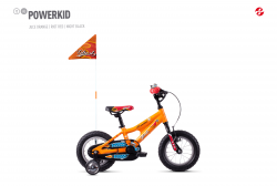 GHOST Powerkid 12 - Orange / Red - 12