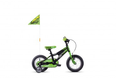 GHOST Powerkid 12 black / green - UNI