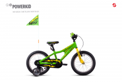 GHOST Powerkid 16 - Green / Yellow - 16