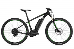 GHOST Ebike Teru B4.9 Jet Black / Urban Grey / Riot Green - XL (185-200cm)