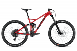 GHOST FRAMR 8.7 Riot Red / Jet Black - M (165-180cm)