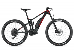 GHOST Ebike SLAMR X S7.7+ LC Titanium Gray / Riot Red / Star White - XL (185-200cm)